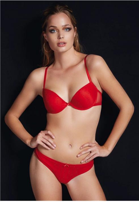 Jadea 4696 rosso Комплект push up +brasiliano