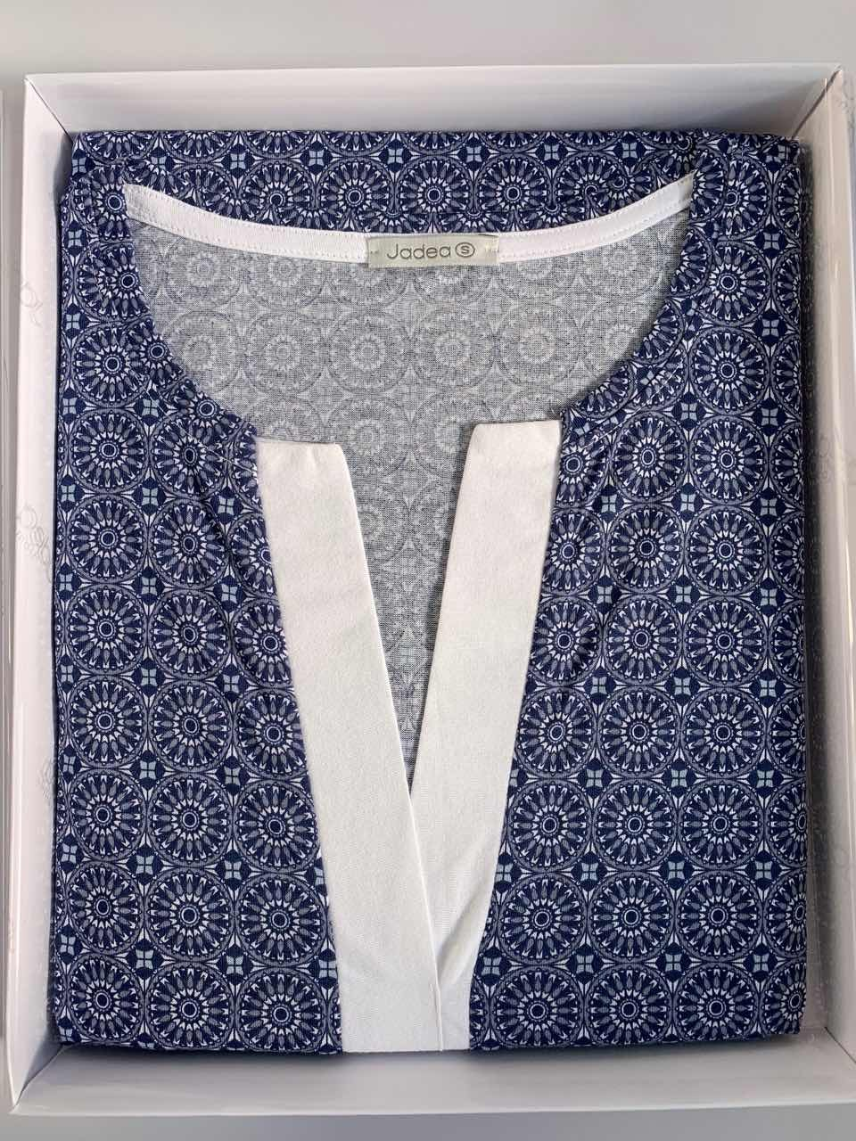 498452af7197 Jadea 3080 blu Пижама/домашний костюм Lungo трусы купить, Jadea 3080 ...