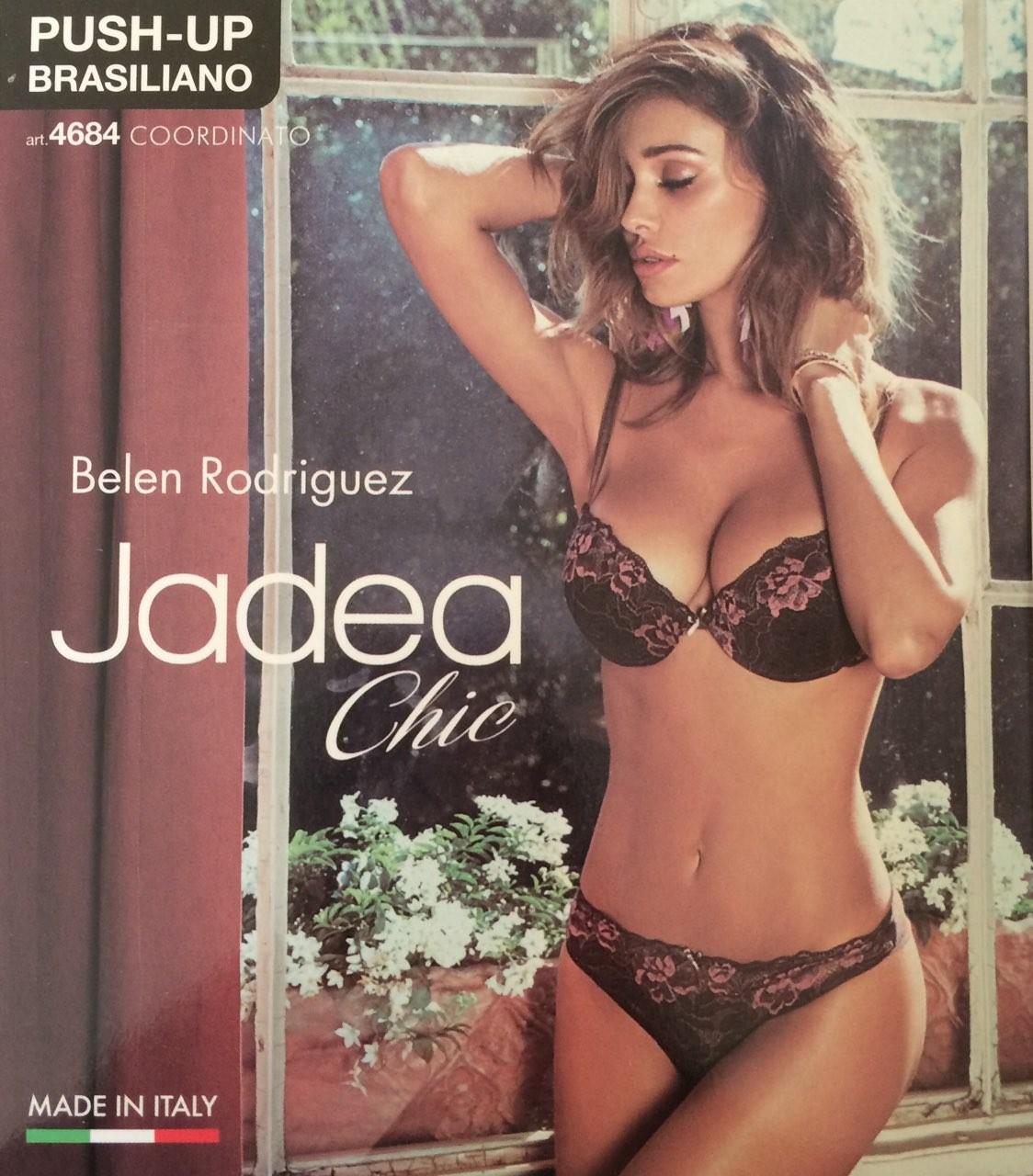 Jadea 4684 terra Комплект push up + brasiliano трусы купить 55fa3116840ed