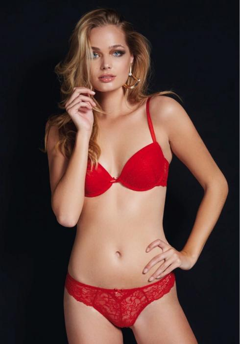 Jadea 4694 rosso Комплект push up +brasiliano